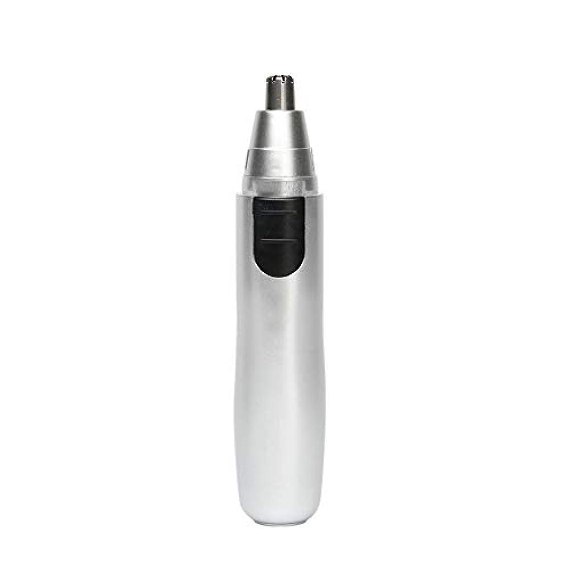 ハイブリッドなんでも脊椎男性の耳の毛と鼻毛のトリマー、電気シェーバー防水フェイシャルトリマー鼻の鼻毛掃除機システム