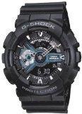時計 Casio カシオ G-Shock X-Large Display Stealth Black Watch (GA110-1B) - Water and Shock Resistant メンズ 男性用 [並行輸入品]