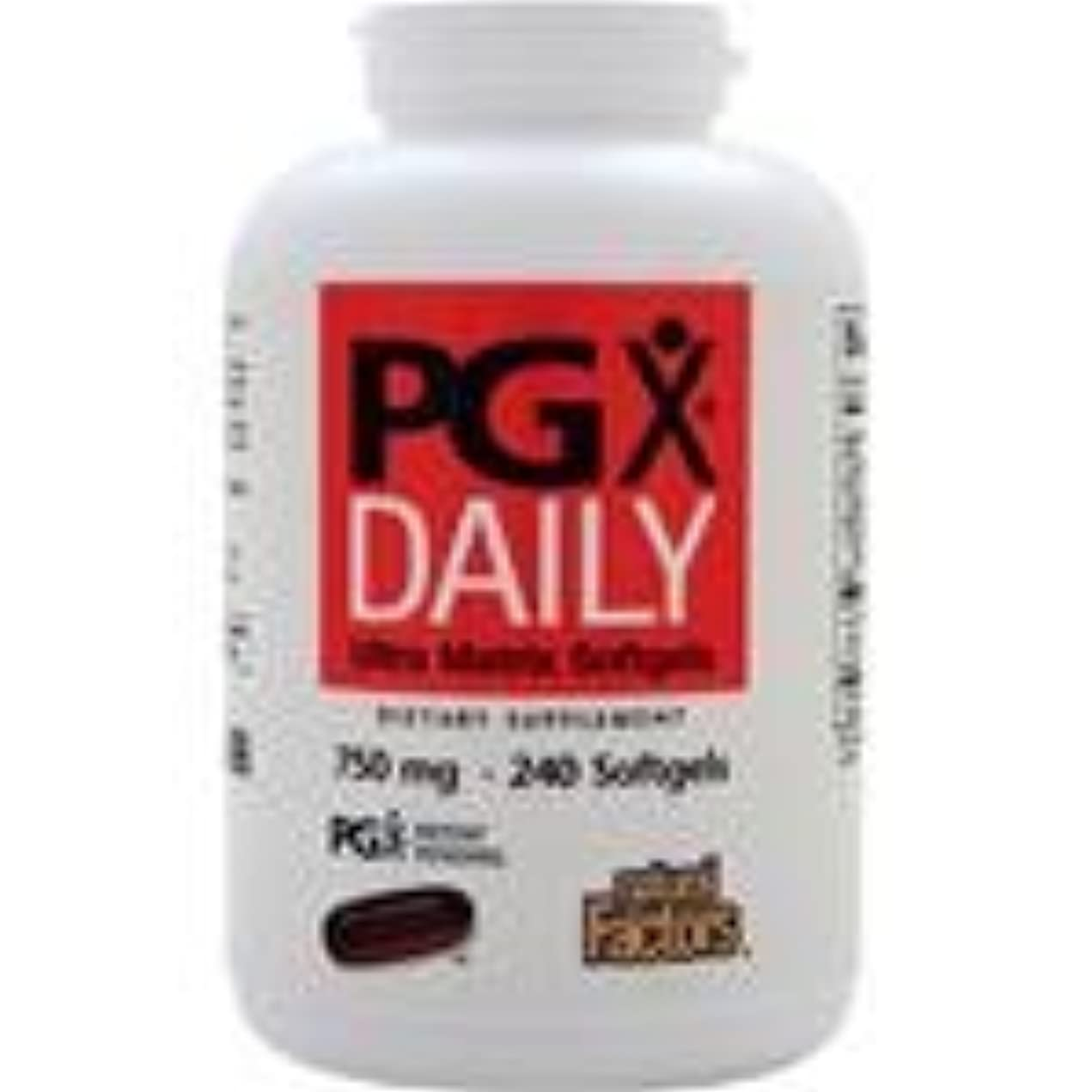 個人ショッピングセンター困惑PGX Daily (750mg)  240 sgels   4個パック