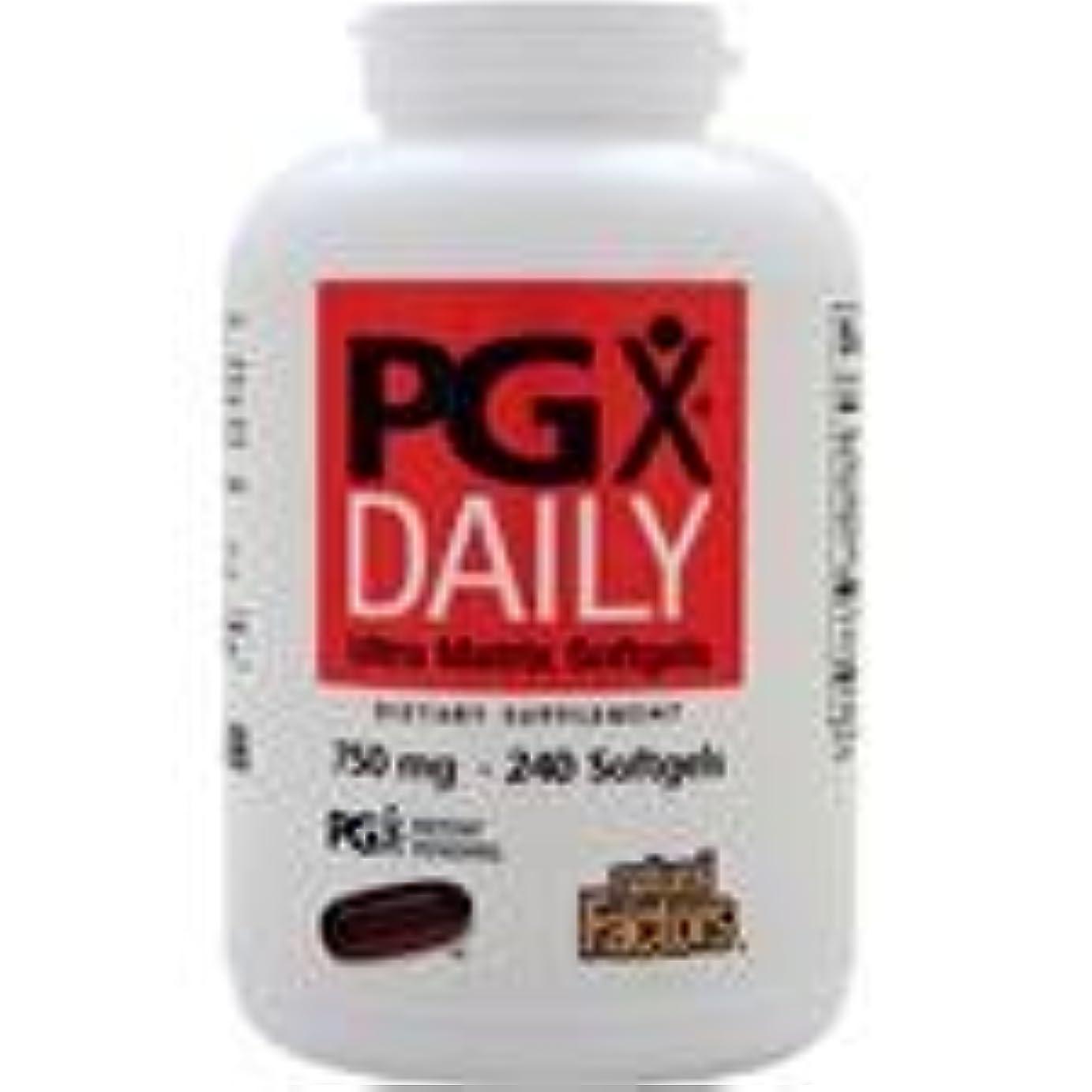 衝突かける磁石PGX Daily (750mg)  240 sgels   4個パック