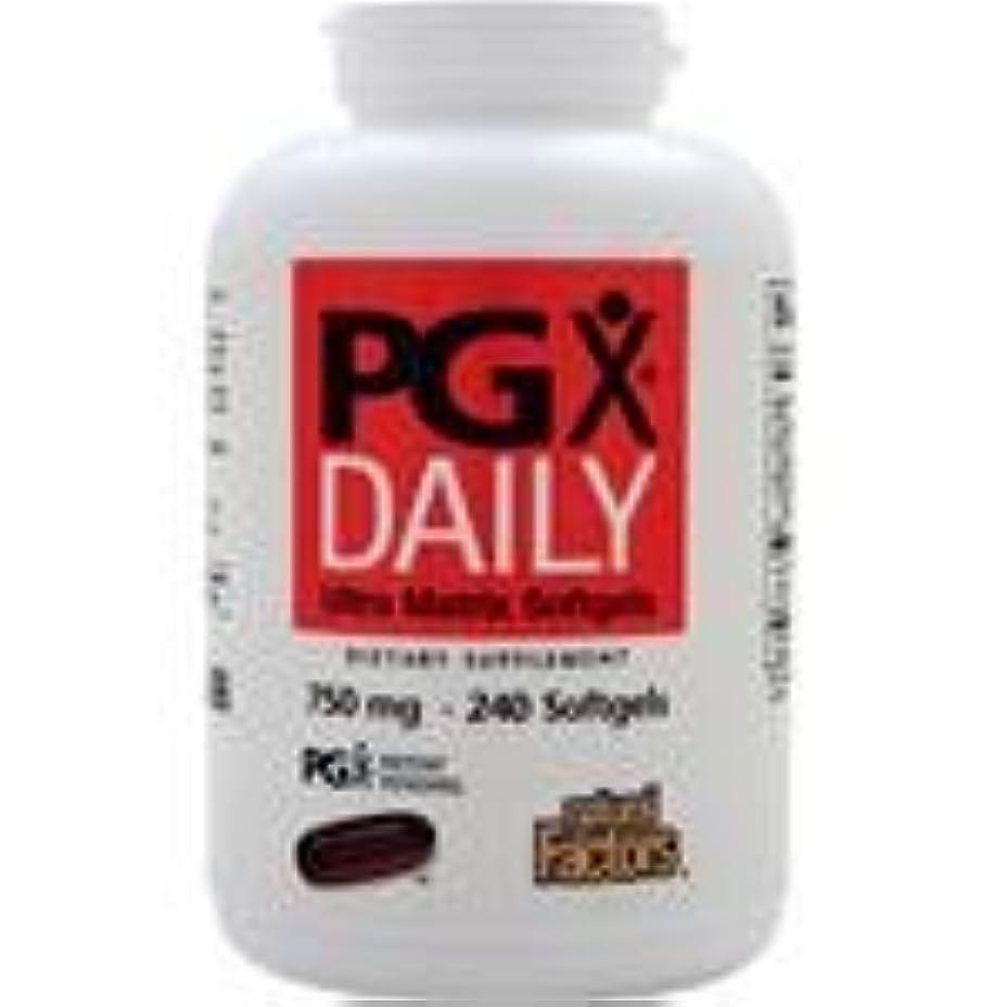 算術二年生評判PGX Daily (750mg)  240 sgels   2個パック