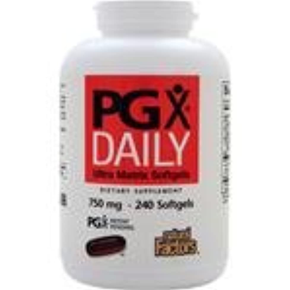拡散する援助組PGX Daily (750mg)  240 sgels   2個パック