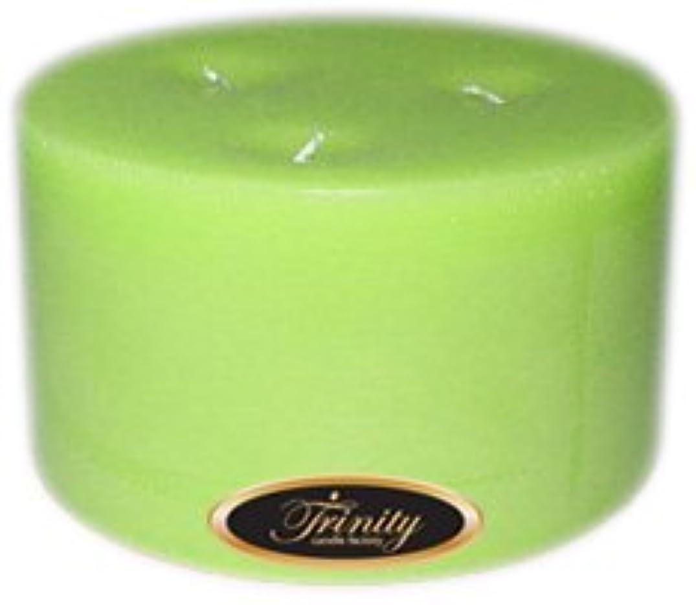 バルーン髄高音Trinity Candle工場 – モロッコメロン – Pillar Candle – 6 x 3