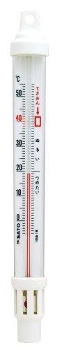シンワ測定 風呂用 温度計 B-3 ウキ型 72651