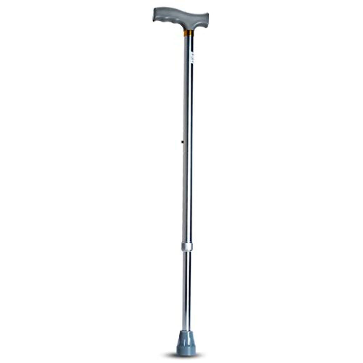 求めるペインギリック防止杖 - 老人用杖アルミ合金滑り止め格納式高齢者登山杖