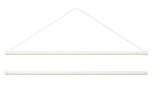 《ネコポス対応》(キステ) Kisste タペストリー棒キット 小ふろしき・タペストリー掛け棒 5-4-00532 【No.1】ホワイト