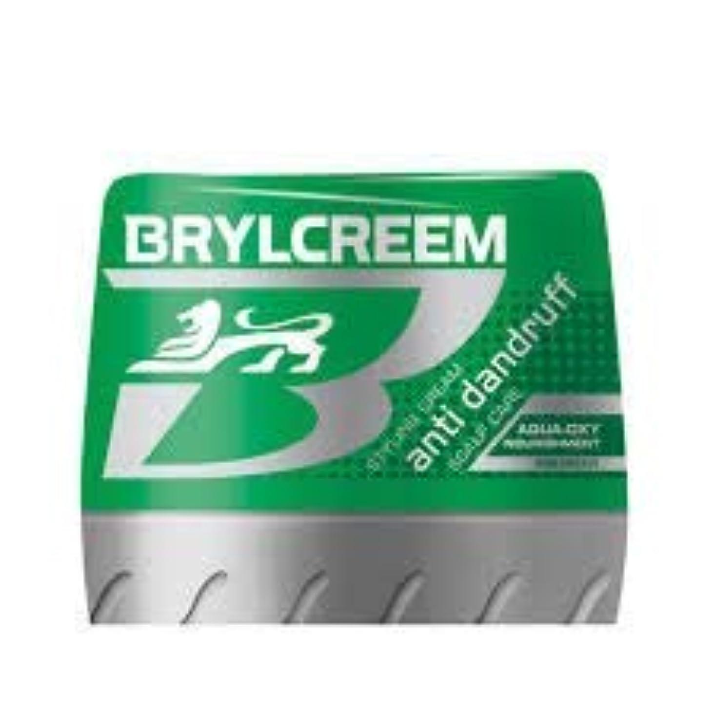 サッカー国勢調査重々しいBRYLCREEM ふけ防止スタイリングクリーム水生酸素125ミリリットル