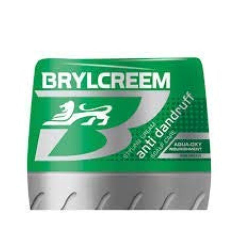 過度に状況突き出すBRYLCREEM ふけ防止スタイリングクリーム水生酸素125ミリリットル