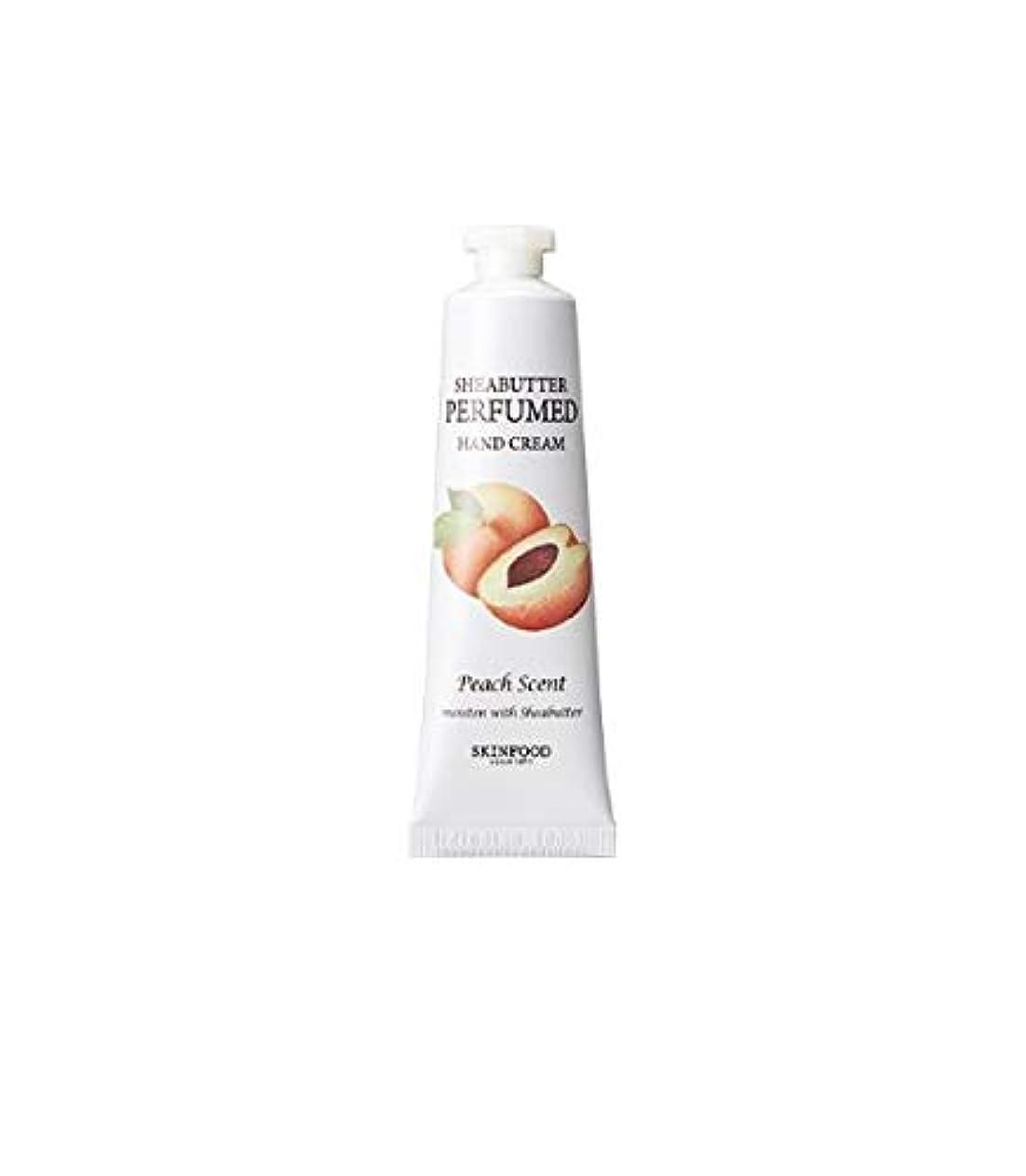 歩行者平らにするピースSkinfood シアバター香水ハンドクリーム#ピッチ/Shea Butter Perfumed Hand Cream #Pitch 30ml [並行輸入品]