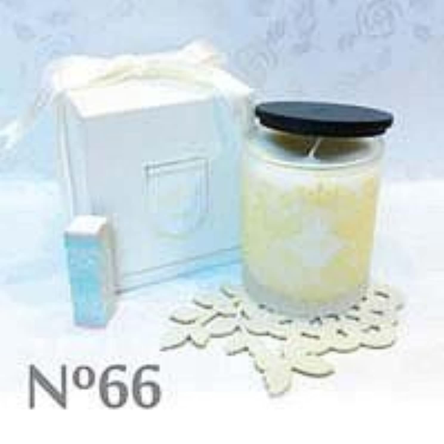 ライブバーゲングリップアロマキャンドル parfum No.66