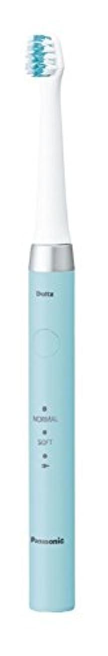 隠泥だらけ実際のパナソニック 電動歯ブラシ ドルツ 青 EW-DM61-A