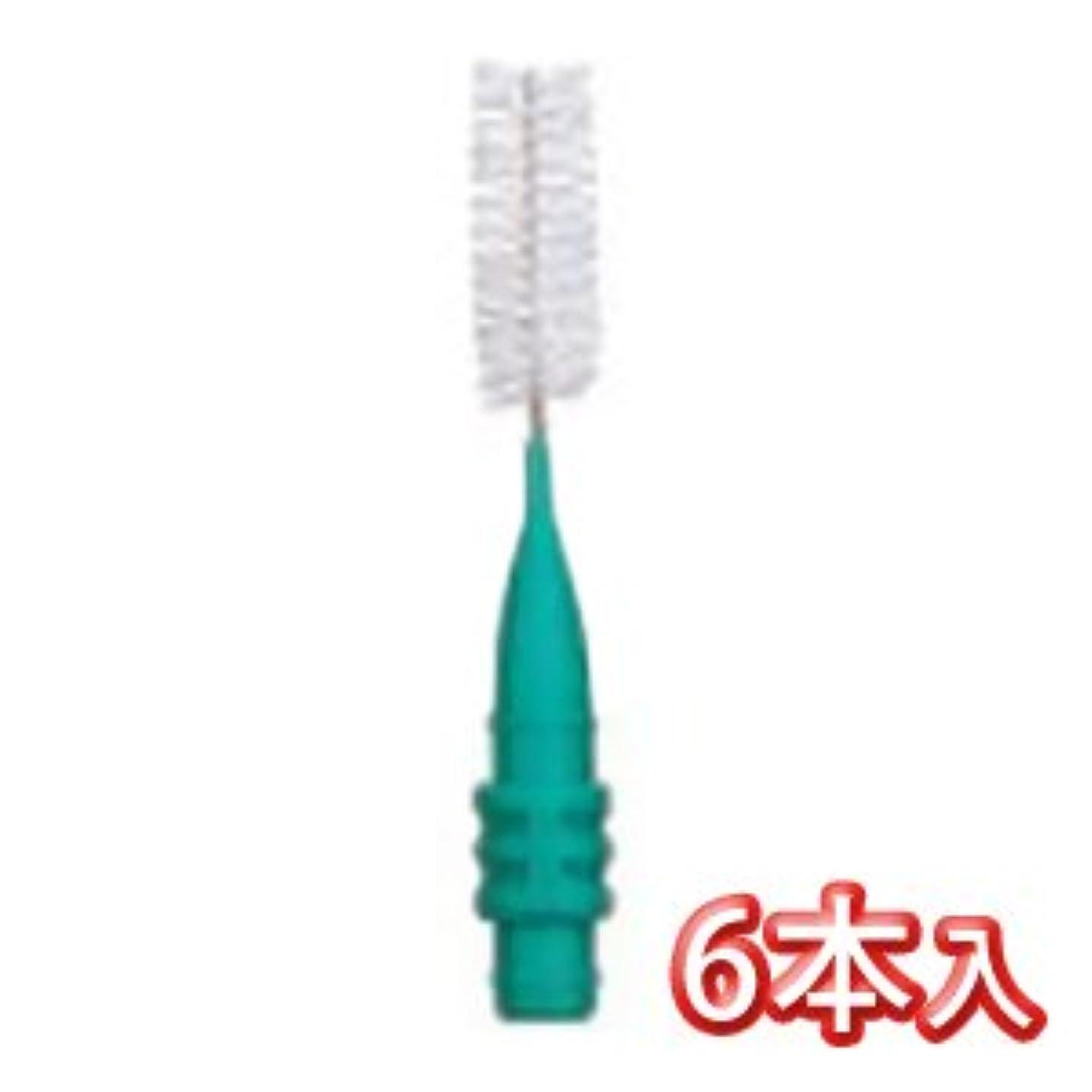 テンポ特徴アイドルプロスペック 歯間ブラシ2 スペアーブラシ のみ 6本入 LL グリーン