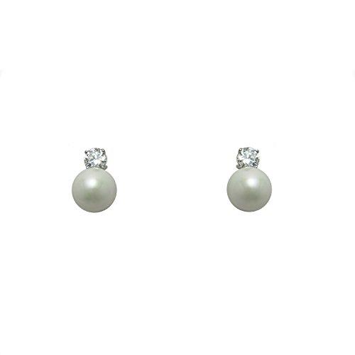 [해외][TOCCHI (톳찌) 논호루삐아스 피어싱 같은 귀걸이 진주 단순 [병행 수입품]/[TOCCHI (Toshi)] Non Hole Pierced Earrings Pearl Simple [Parallel import goods]
