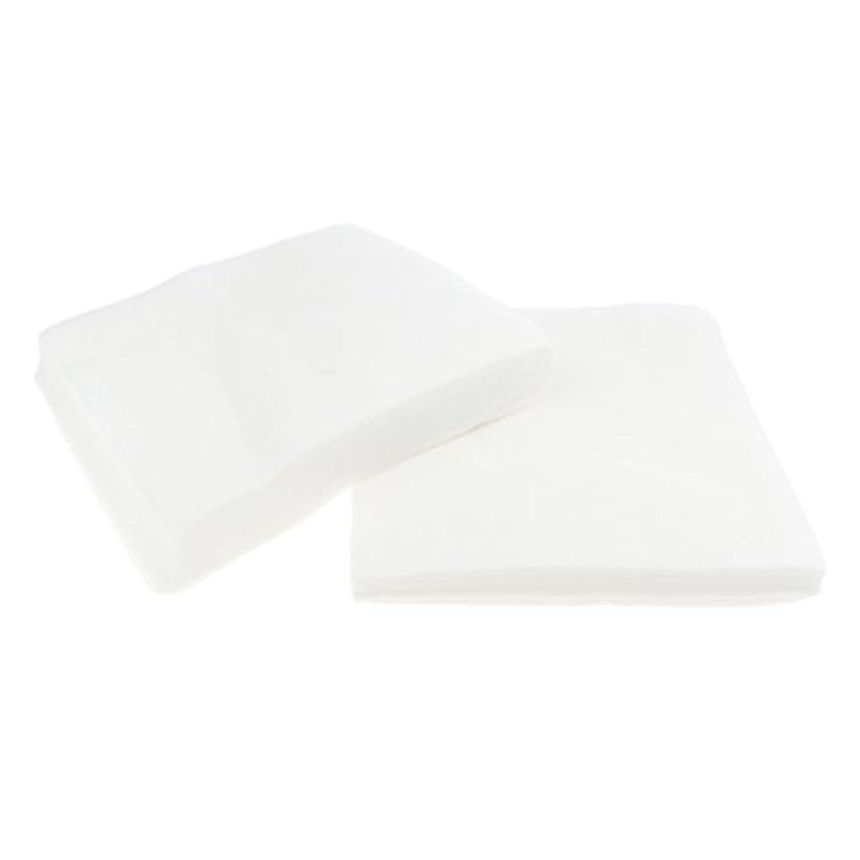 押すエミュレートするホイストメイク落とし 洗顔 シート クレンジングシート メイク落とし 使い捨て ホワイト 2サイズ - 1#