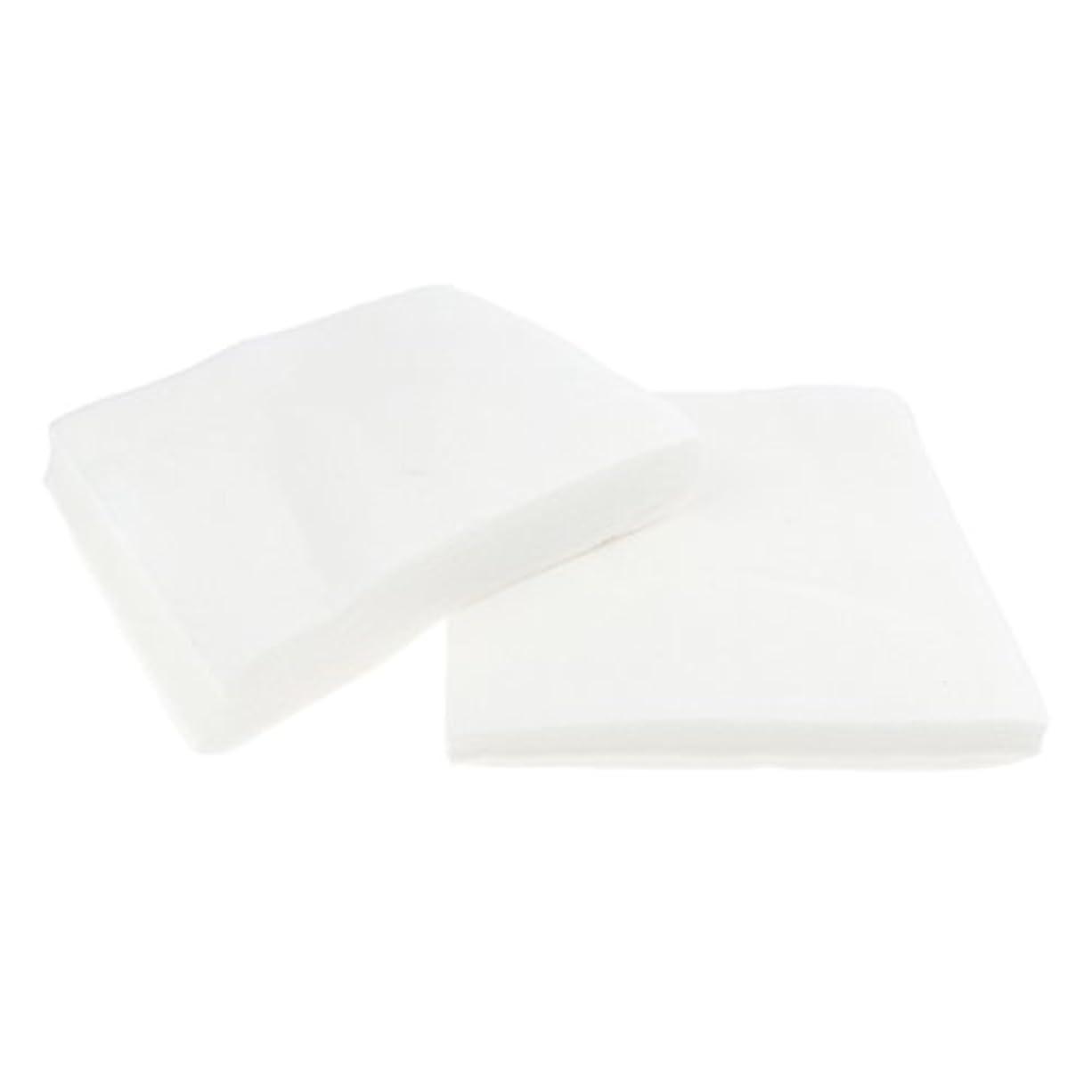 ファイバ適度な口述メイク落とし 洗顔 シート クレンジングシート メイク落とし 使い捨て ホワイト 2サイズ - 1#
