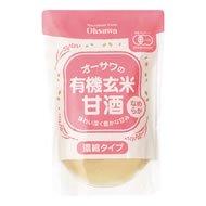 オーサワの有機玄米甘酒(なめらか) 200g 10袋セット
