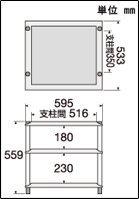 タオック アルミと鋳鉄のハイブリッド・オーディオラック パールクリスタルシャインホワイト・3段【受注生産品】TAOC ASR ASR2-3S-PW