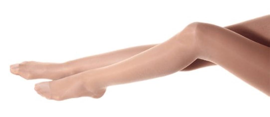 スラム街池慣れるElle Rose エルローズ  140デニール ハイサポートストッキング 骨盤プラス (L, ライトベージュ)