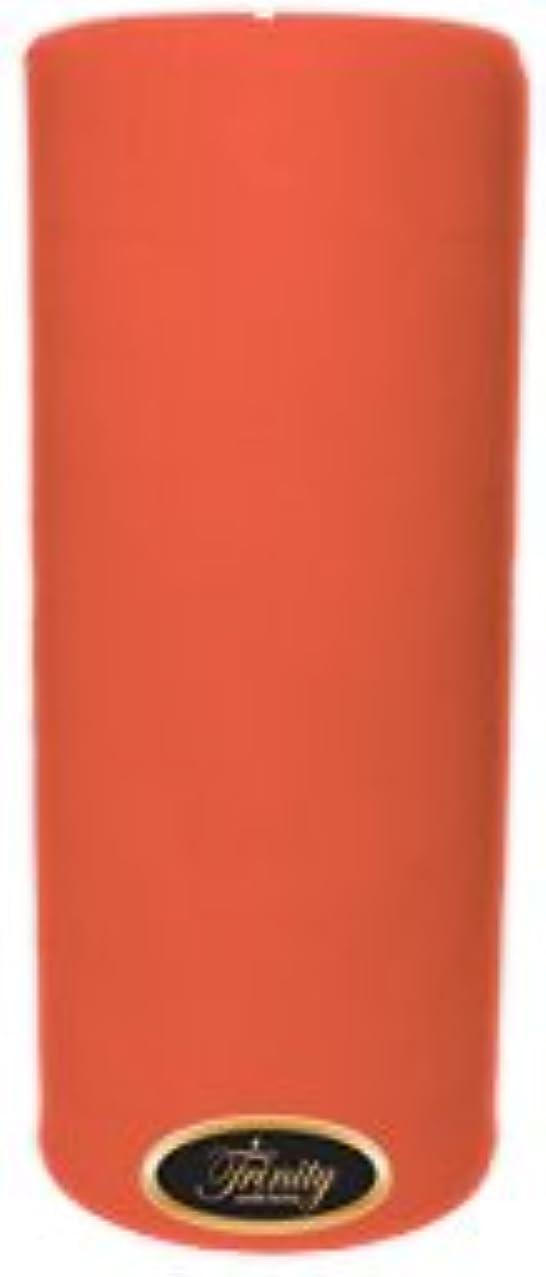 痴漢クリエイティブ軽減するTrinity Candle工場 – ジョージアピーチ – Pillar Candle – 4 x 9
