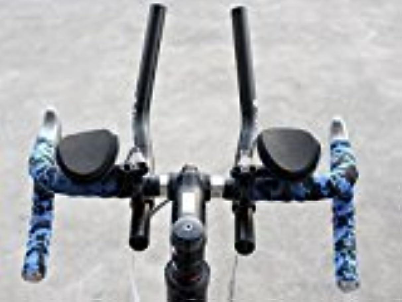 アナロジー暫定の掃くBeesClover ロードマウンテンバイク 自転車 MTB リラクゼーションレスト エアロバー バー ハンドルバー