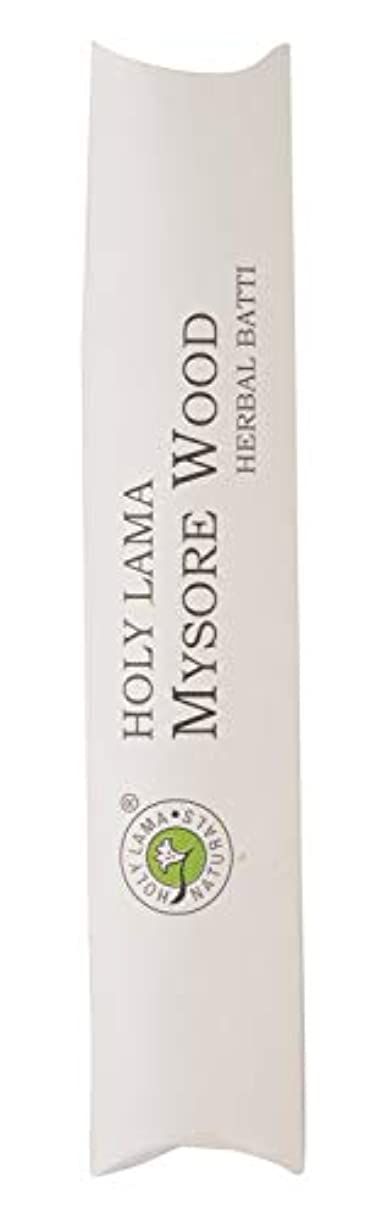 ハリケーンミットお尻Holy Lama Naturals Mysorewood Agarbatti (19.5 cm, Black, 40 gm)