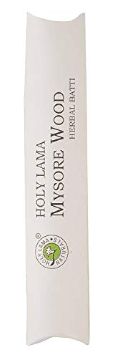 特派員職業定規Holy Lama Naturals Mysorewood Agarbatti (19.5 cm, Black, 40 gm)