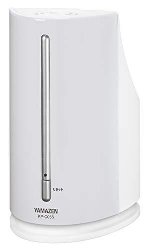 [山善] ペットボトル式 加熱式 加湿器 (木造約3畳/プレハブ約6畳) アロマポット付 ホワイト KP-C056(W) [メーカー保証1年]