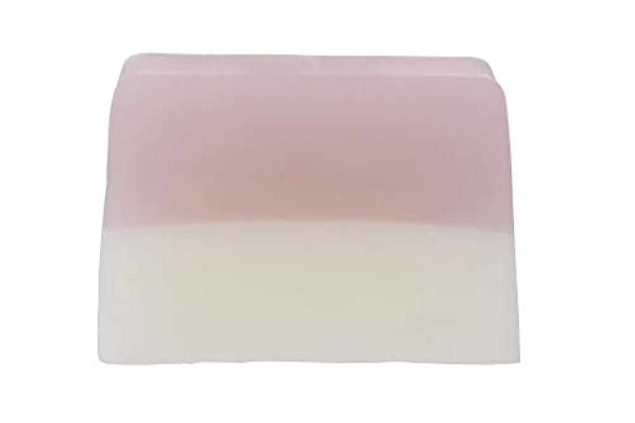 透ける無限悪のROSE LABO(ローズラボ) 24ROSE ナチュラルソープR〈枠練り石鹸〉 100g