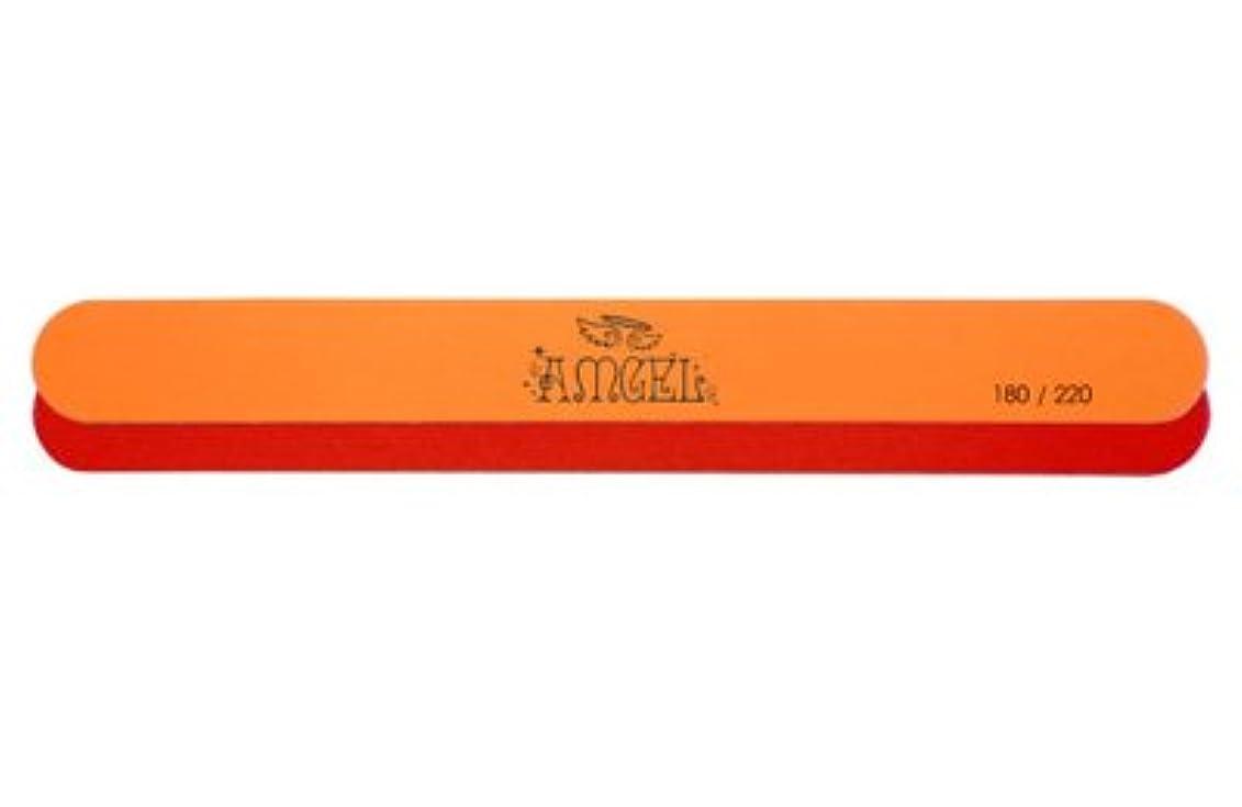 子羊消化器パフ★AMGEL(アンジェル) <BR>レッドオレンジエメリー 180/220
