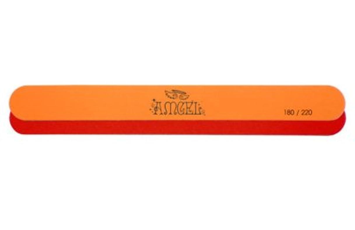 上下する試す咽頭★AMGEL(アンジェル) <BR>レッドオレンジエメリー 180/220