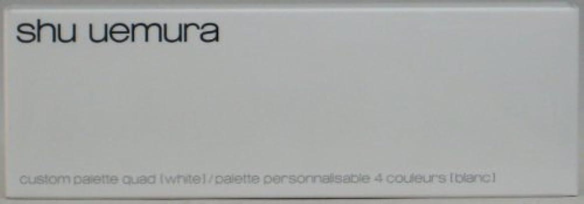 前投薬カメ実際シュウウエムラ カスタムパレット IV(ホワイト)