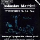 Bohuslav Martinu: Symphonies No. 3 & No. 4 - Bamberg Symphony / Neeme J?rvi