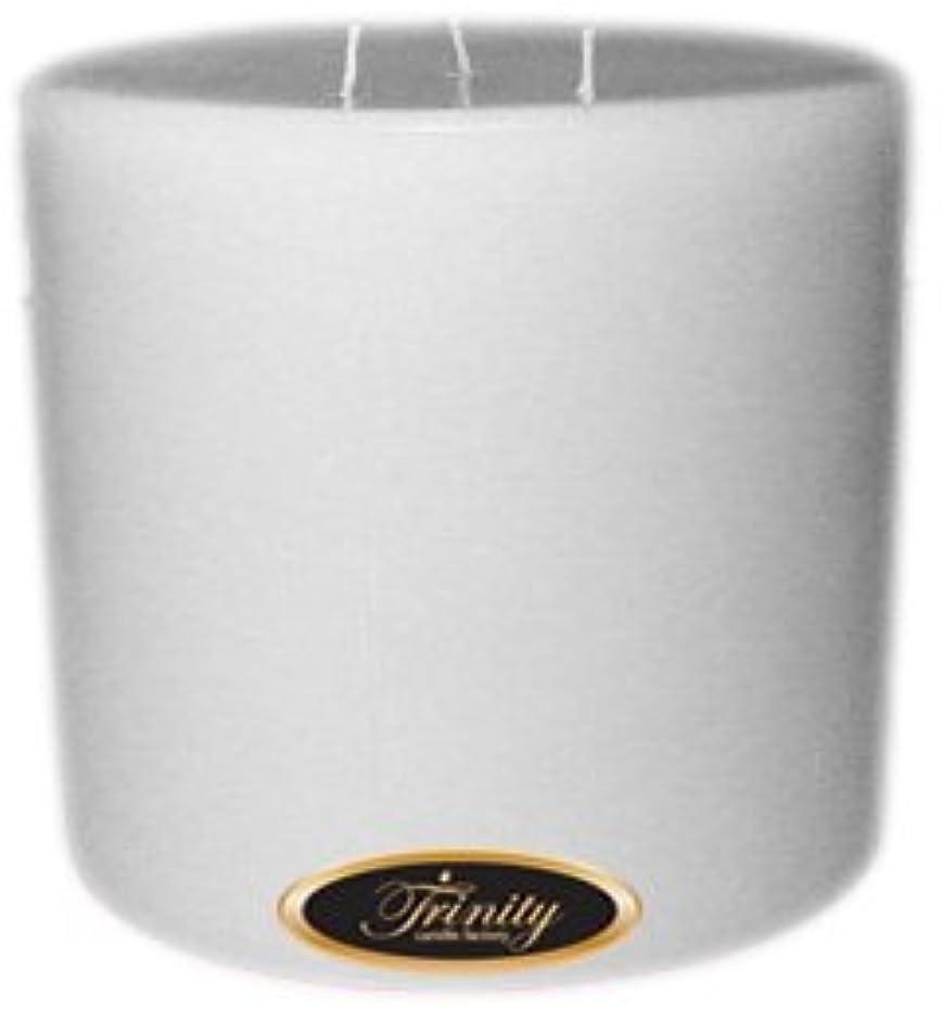 地域の無許可ロンドンTrinity Candle工場 – Magnolia – Pillar Candle – 6 x 6