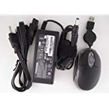 Toshiba 19V 3.42A 65W ACアダプター交換for Toshiba Satelliteノートブックモデル: l645d-s4100wh、psk0qu-02F00C、s4106bn、psk0qu-02h00C、l645d-s4106rd、psk0qu-02j00C、l645d-s4106wh、psk0qu-02K00C、l645d-s9411d、psk0qu-03F00C、l655-s5167X。100%と互換性Toshiba部品番号: pa3714u-1aca、pa3467u - 1aca、pa3097u-1aca、pa3396u-1aca、pa-1650–、21、pa3822u-1aca pa3468u-1aca、pa3715u-1aca、pa3165u。*フリートラベルサイズUSB光学式マウスwith収納コード。*