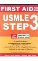 First Aid For The Usmle Step 3 A Resident To Resident Guide [Paperback] Tao Le Vikas Bhushan