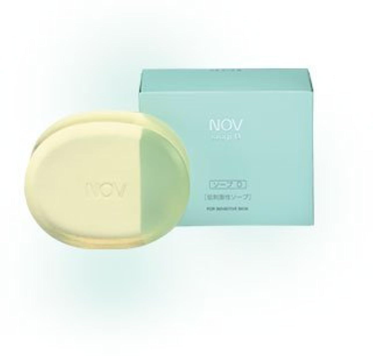 インフルエンザとても好むNOV ノブ ソープD 100g