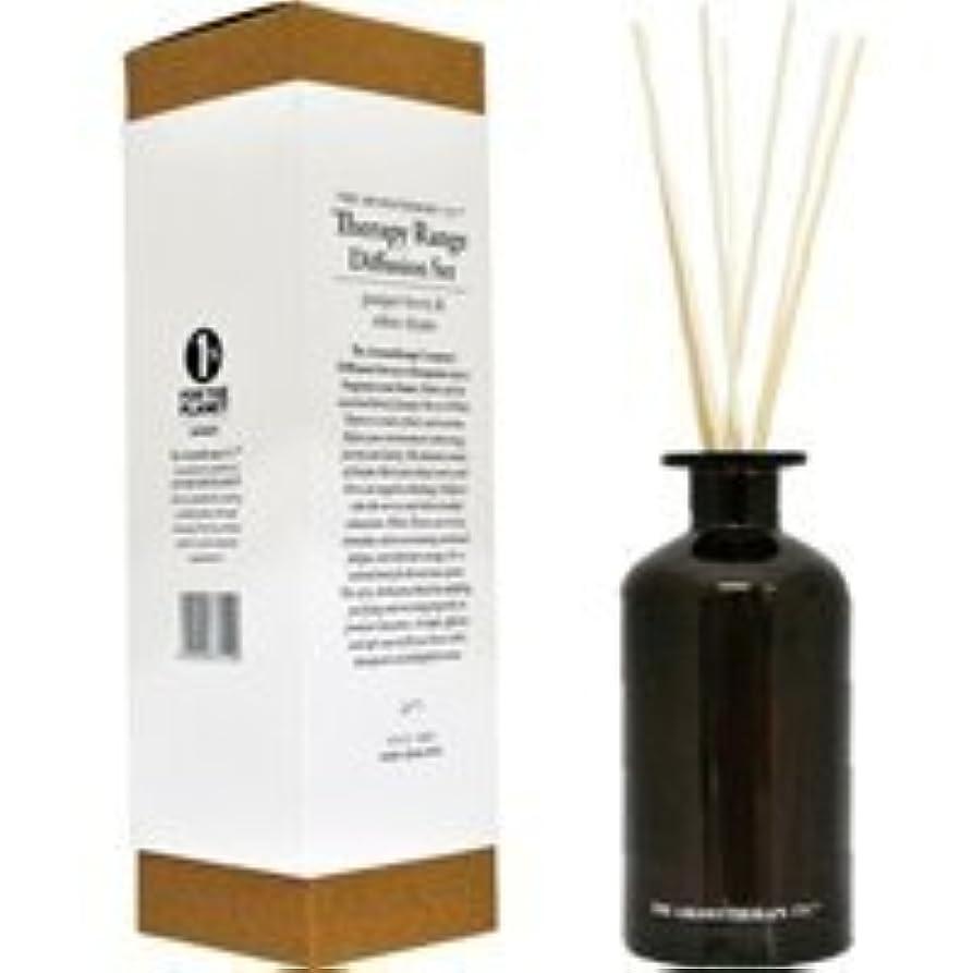 歪める二度無謀Therapy Range セラピーレンジ メディシンボトル ディフュージョンスティック 250ml ジュニパーベリー&ホワイトタイム Juniper Berry & White Thyme アロマセラピーカンパニー
