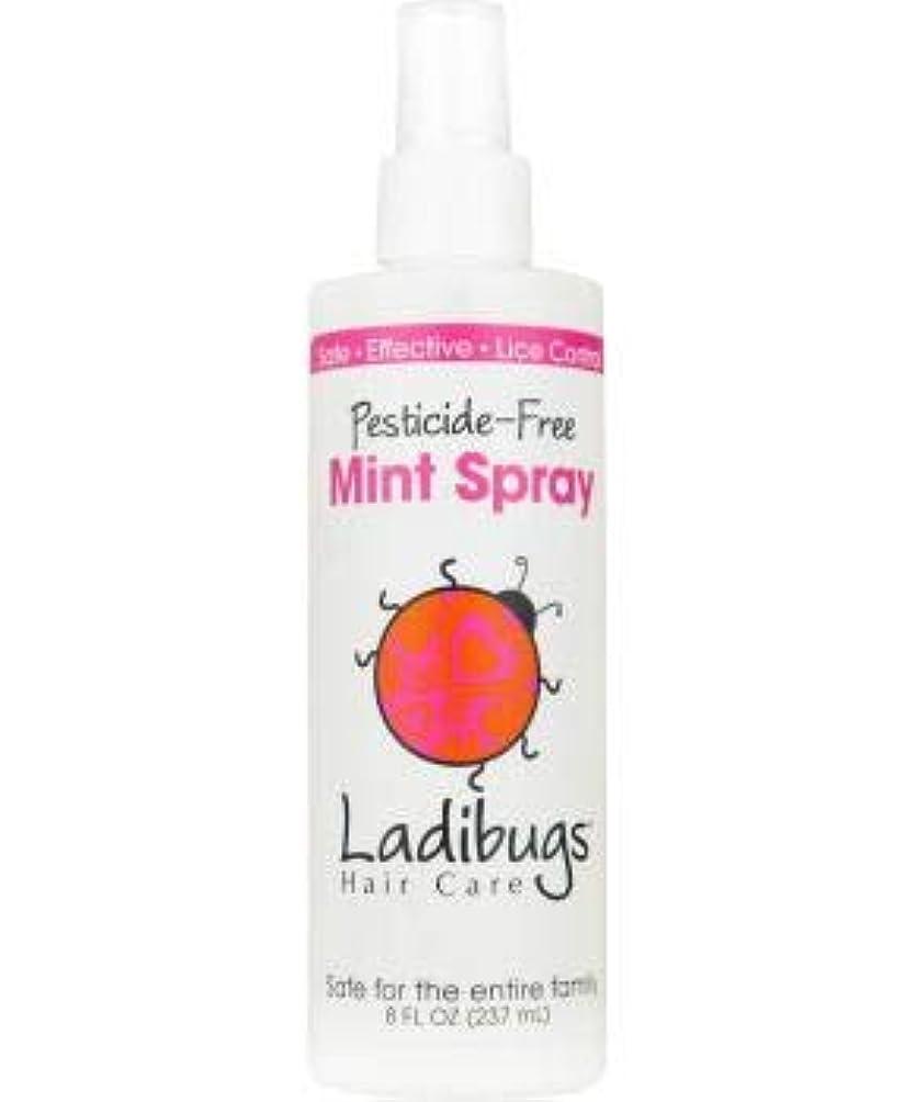 Ladibugs スプレーミント8オンスでシラミ予防残します