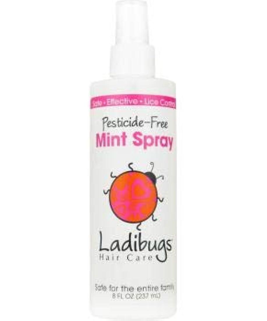 笑い美容師贅沢Ladibugs スプレーミント8オンスでシラミ予防残します