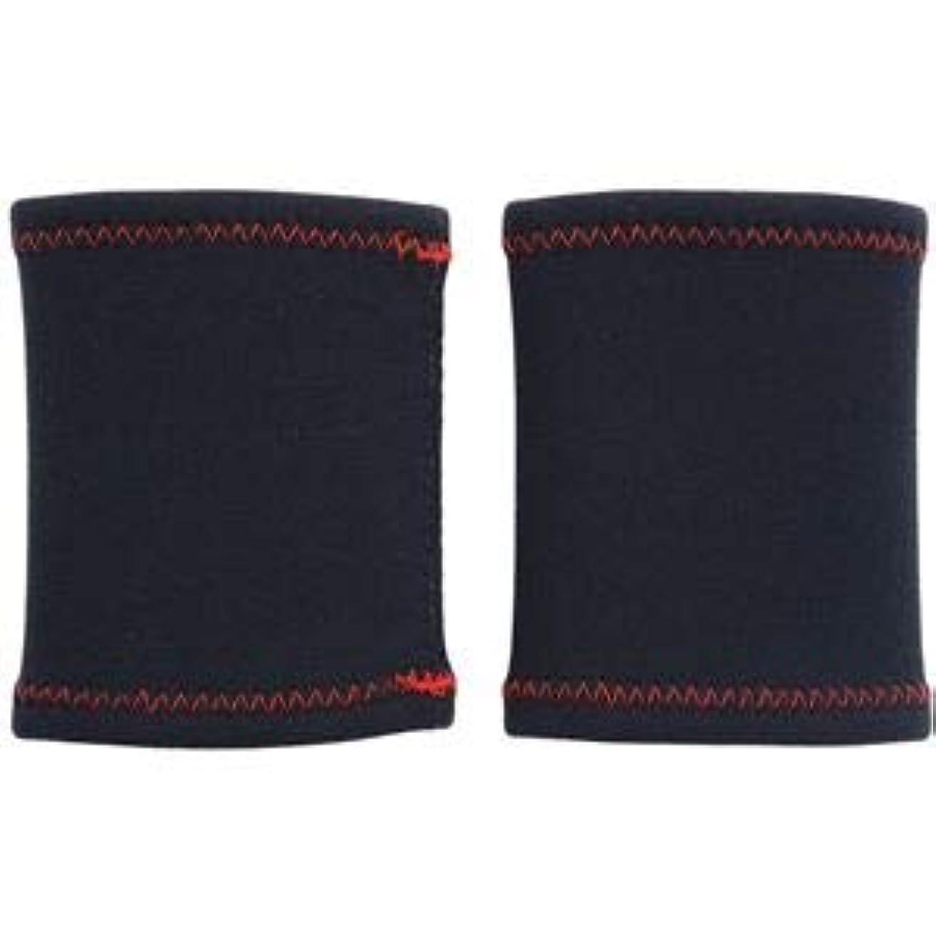 反逆者今日ラッドヤードキップリングHEALTH POINT (ヘルスポイント)極暖ランニングリストウォーマー(2枚組) ブラック Fサイズ 1810RZ