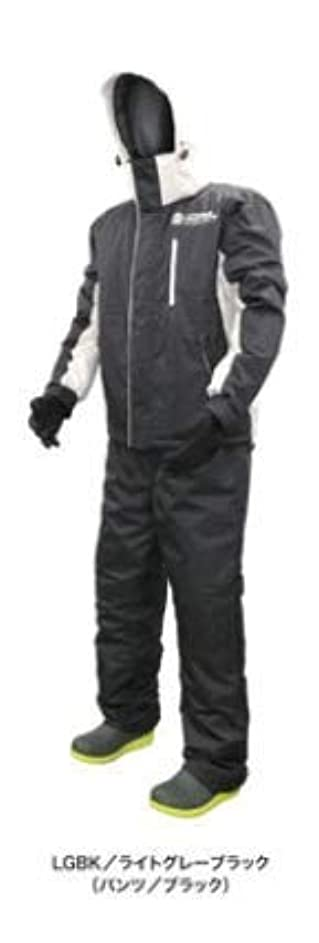 浜田商会 クロスファクター 防水防寒ウィンタースーツ ライトグレーブラック WBA-1804 L