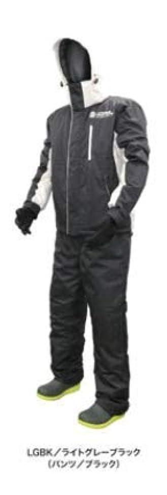 結果強い罹患率浜田商会 クロスファクター 防水防寒ウィンタースーツ ライトグレーブラック WBA-1804 L