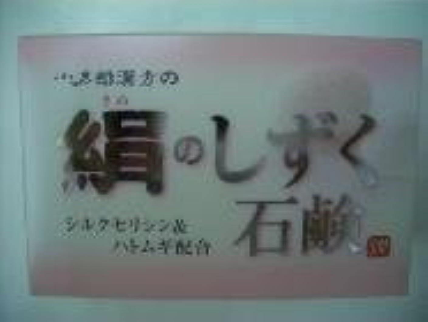 多年生企業噴火絹のしずく石鹸 コタロー80g4個