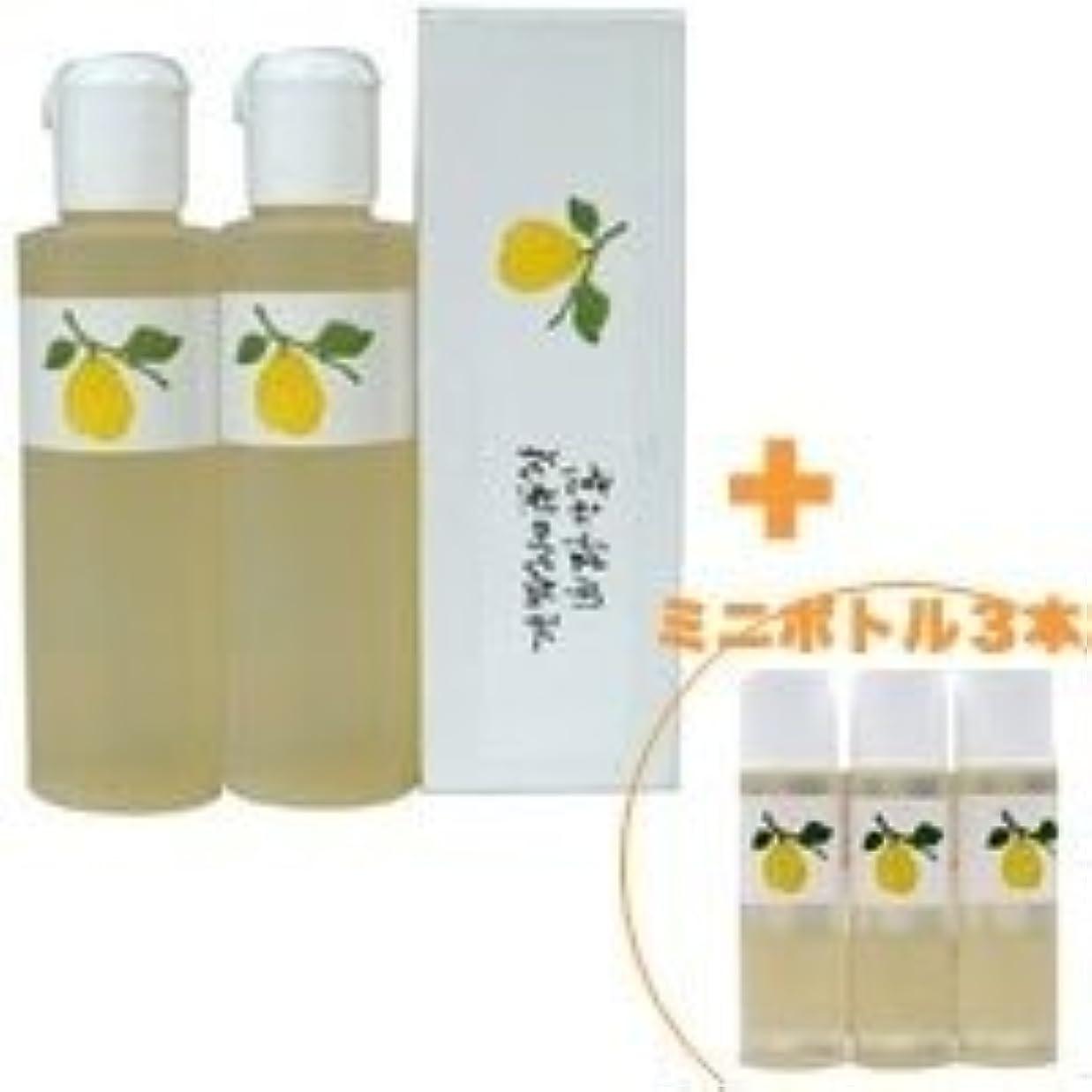 見せます古風なホールドオール花梨の化粧水 花梨の化粧水 200ml 2本&ミニボトル 3本