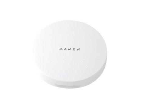 MAMEW パウダーケース-フェイスパウダーケース-携帯用・パフ付き・メッシュ