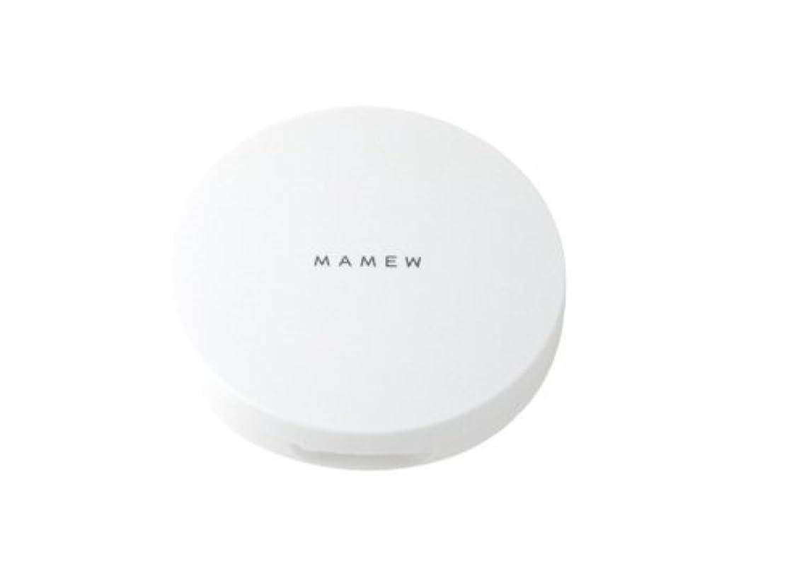 インディカ位置づける忠実なMAMEW パウダーケース-フェイスパウダーケース-携帯用?パフ付き?メッシュ