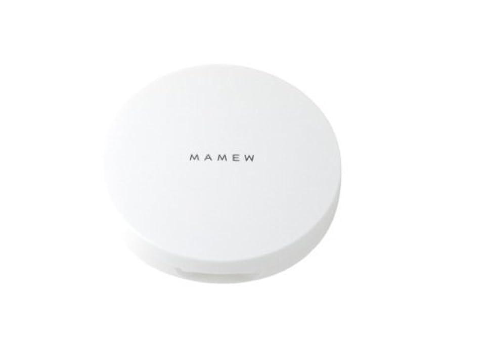 化学元の染色MAMEW パウダーケース-フェイスパウダーケース-携帯用?パフ付き?メッシュ