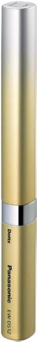 魅力的であることへのアピール公平ゼロパナソニック ポケットドルツ 音波振動ハブラシ ゴールド EW-DS12-N