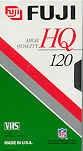Fuji高品質VHSテープ、5パック