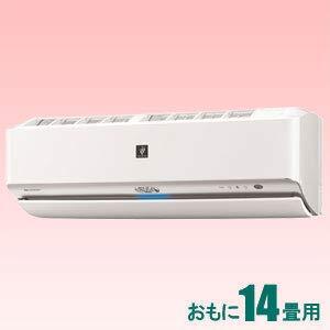 シャープ 【エアコン】 高濃度プラズマクラスターNEXT搭載おもに14畳用 (冷房:11~17畳/暖房:11~14畳) JXシリーズ 電源200V (ホワイト系) AY-J40X2-W